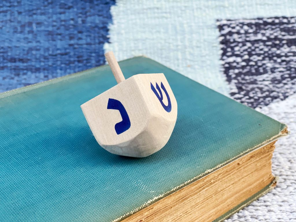 Wooden Dreidel DIY
