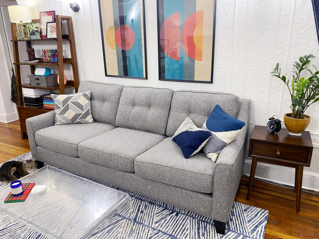 Living Room/Office Makeover